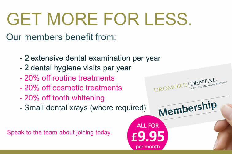 membership plans for dental treatments