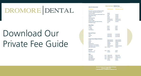 dentist in dromore price list